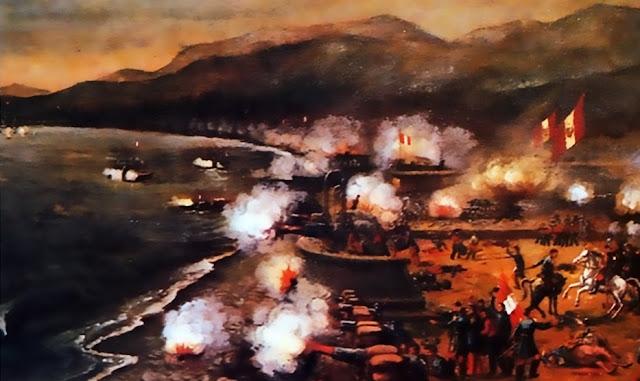 ¿Cuándo se realizó el combate de 2 de mayo?