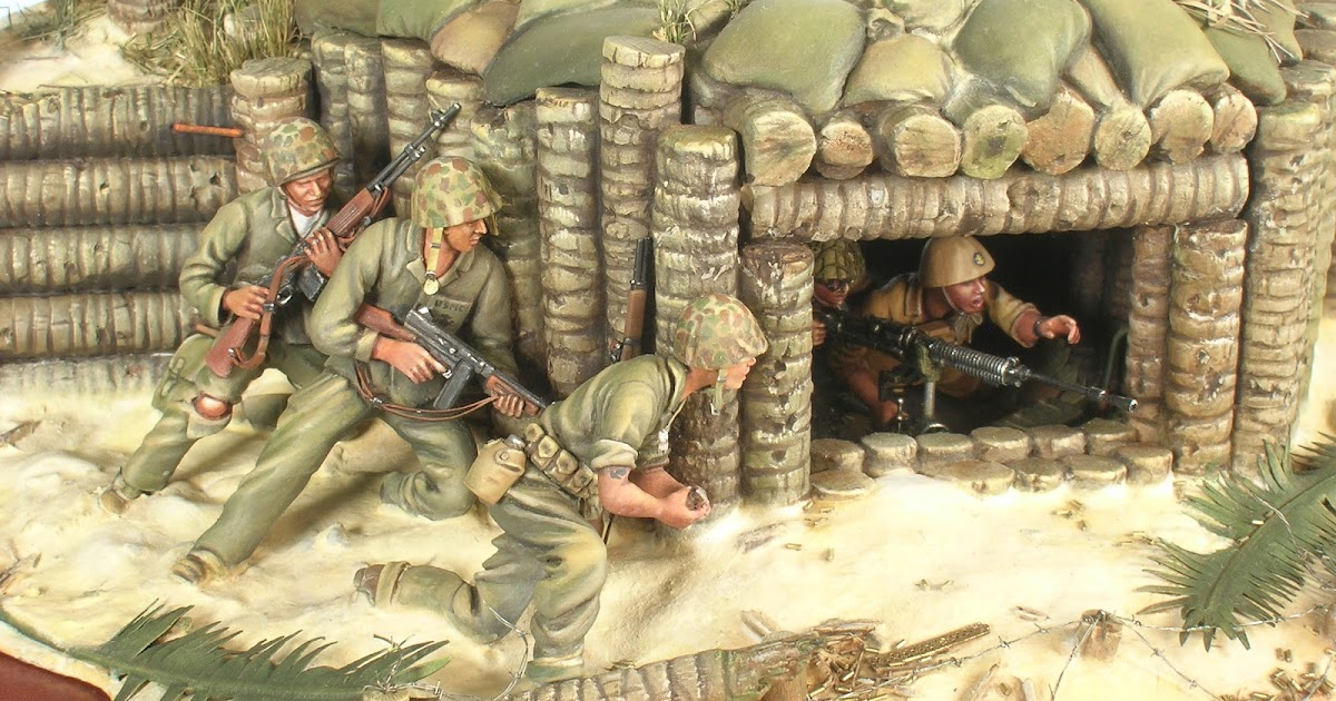 Thailand's hundreds of tropical islands are home to spectacular beaches, bays, and lagoons. MODELLOURS WORKSHOP: Battle of Tarawa - Diorama of the Day
