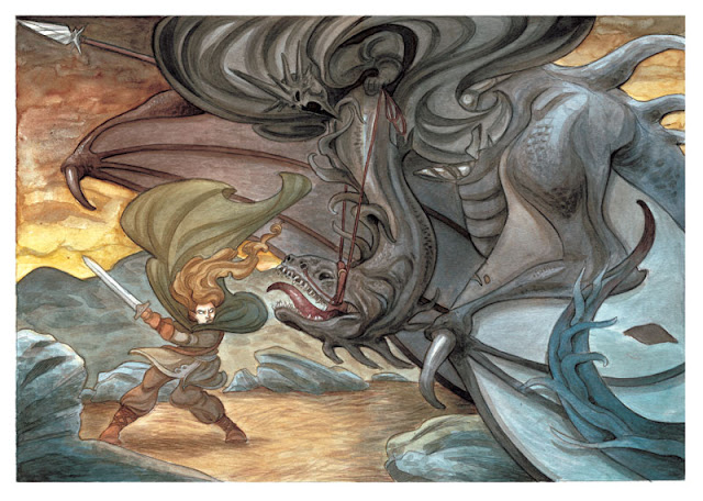 Éowyn contra Nazgul