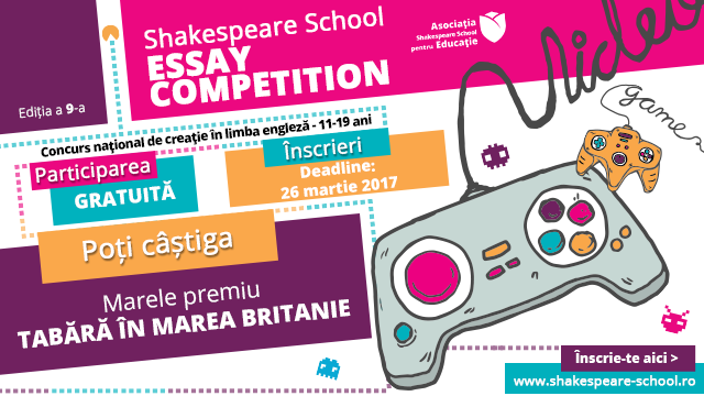 shakespeare school essay competition rezultate 2014
