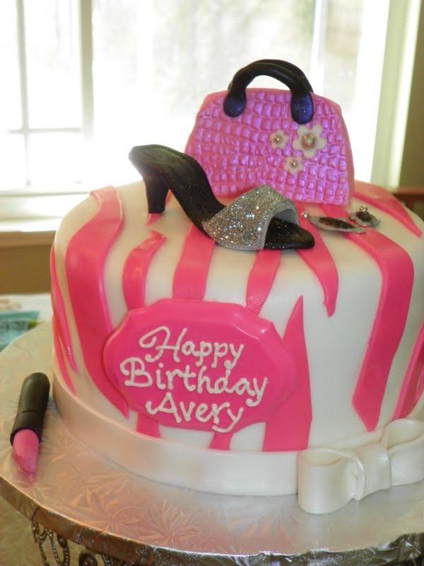 Plumeria Cake Studio Barbie Accessories Birthday Cake