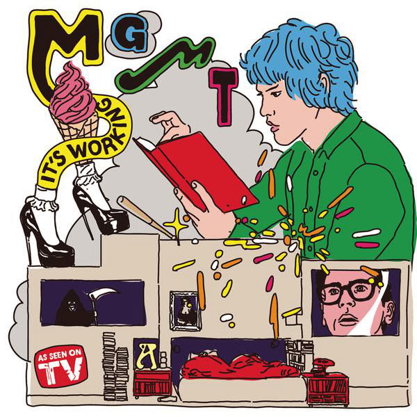 MGMT - It's Working [Digital 45] Cover