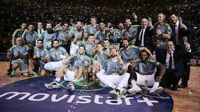 BALONCESTO (Copa ACB 2016) - El Real Madrid levanta su tercera Copa consecutiva frente a un Gran Canaria muy combativo