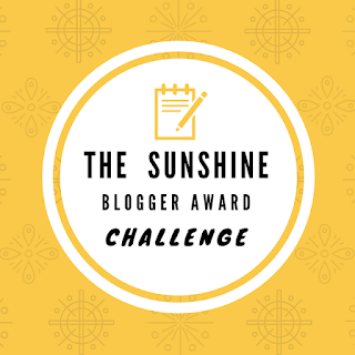 My Answer For The Sunshine Blogger Award Challenge