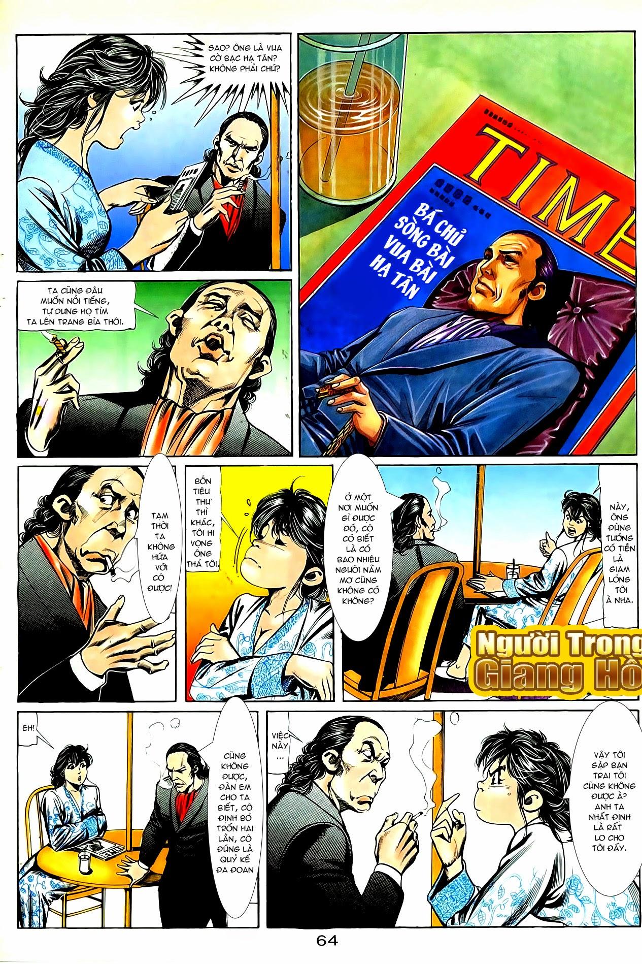 Người Trong Giang Hồ chapter 86: săn báo trang 7