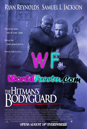Poster Of Free Download The Hitman's Bodyguard 2017 300MB Full Movie Hindi Dubbed 720P Bluray HD HEVC Small Size Pc Movie Only At worldfree4u.com