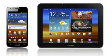 Galaxy S II LTE, Galaxy Tab 8.9 LTE with dual core 1.5 GHz CPU