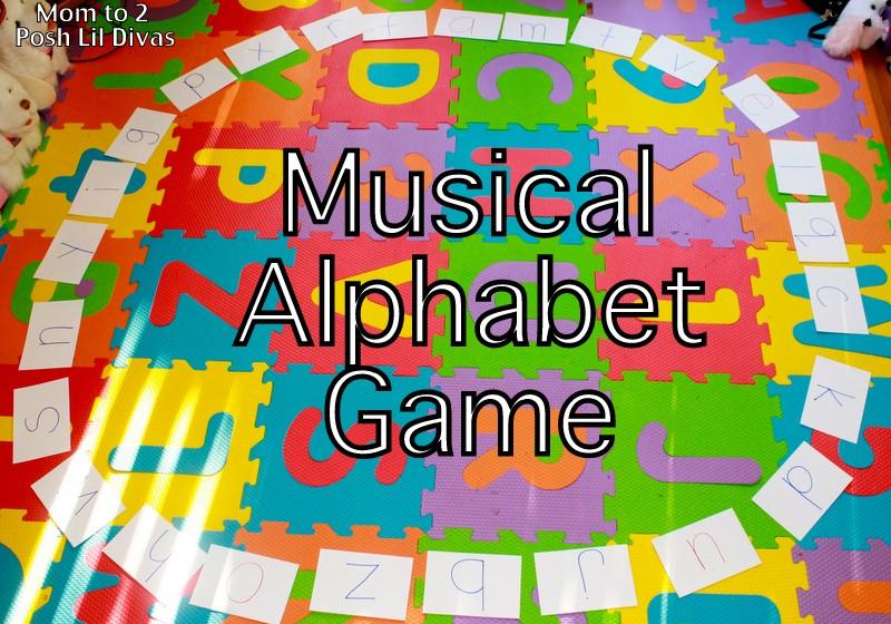 posh writing alphabet game