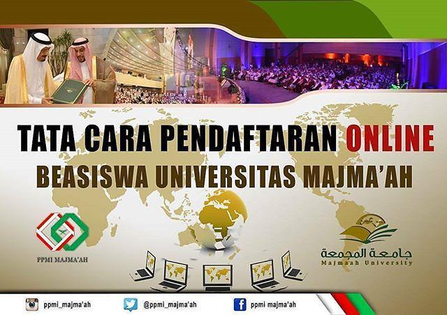 Beasiswa Universitas Majma'ah di Saudi Arabia 2018