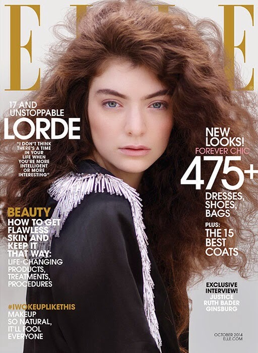 Lorde is featured for her first Elle US cover