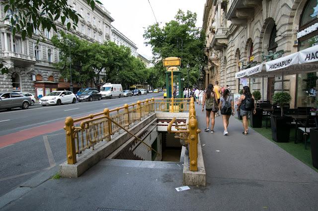 Stazione della metropolitana-Budapest