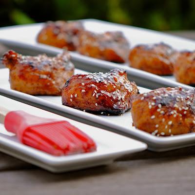 BBQ Turkey Tails with Hoisin Sesame Glaze