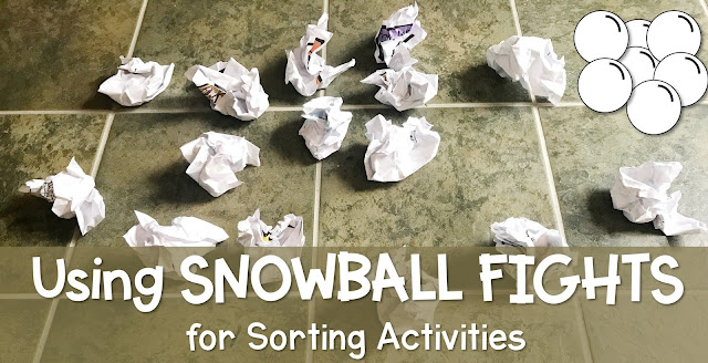 using snowball fights for sorting