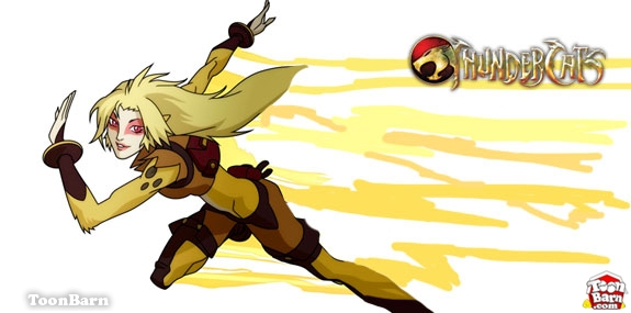 Cheetara of the ThunderCats Girl Superheroes