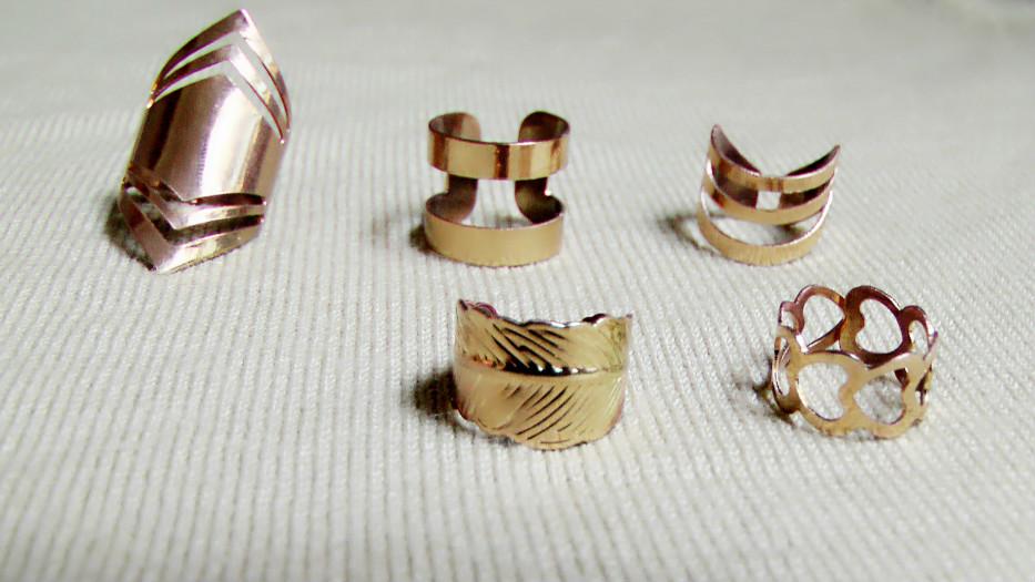 gold accesories - accesorios dorados