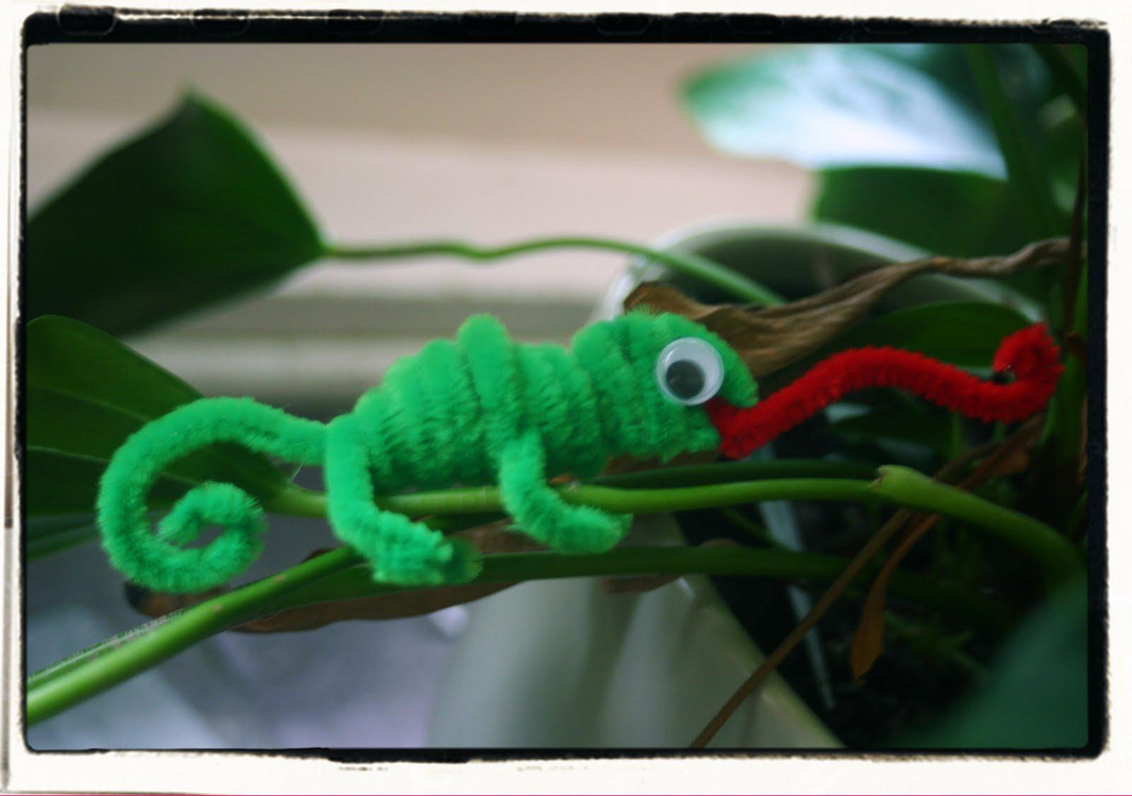 Preschool Chameleon Craft