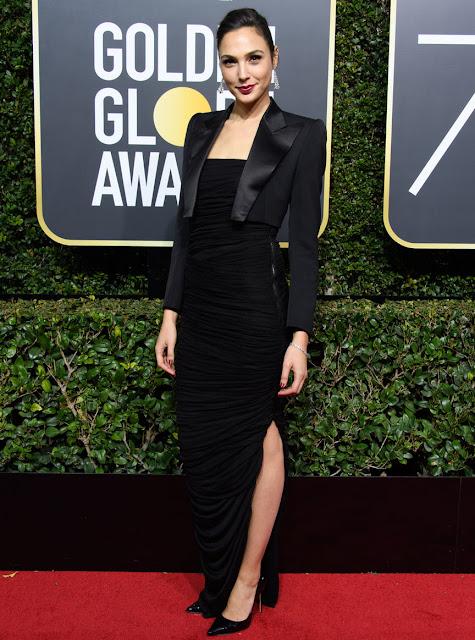 Gal Gadot at 75th Annual Golden Globes