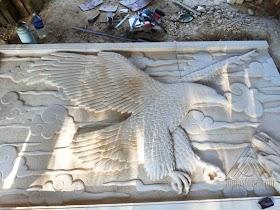 Relief Burung Elang