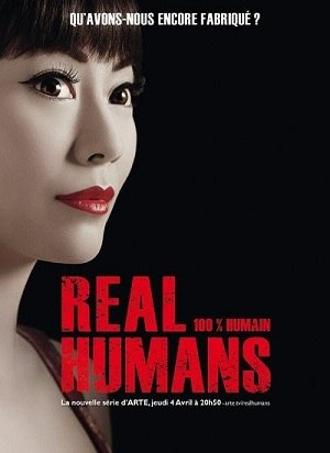 Real Humans - Humanos Reais 1ª Temporada Séries Torrent Download capa