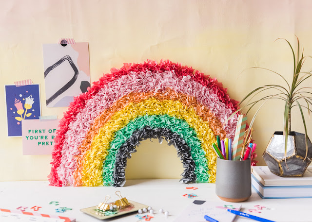 rainbow paper tutorial