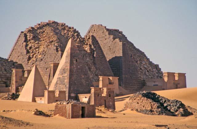 صور السودان - الاهرامات