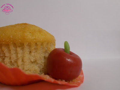 Magdalenas de manzana