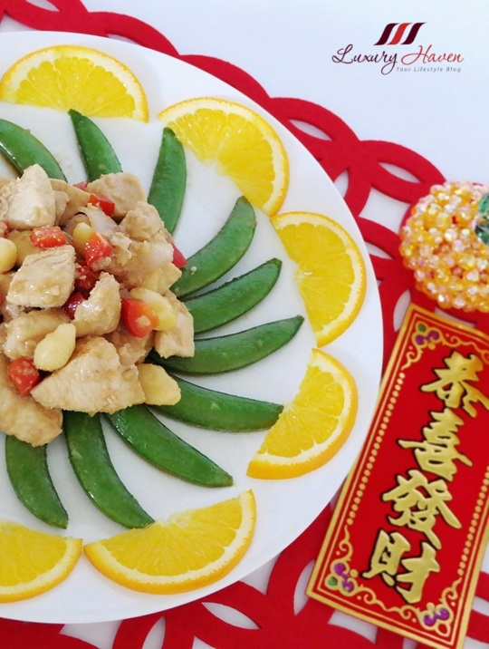 delicious chinese new year ginkgo nuts chicken recipe