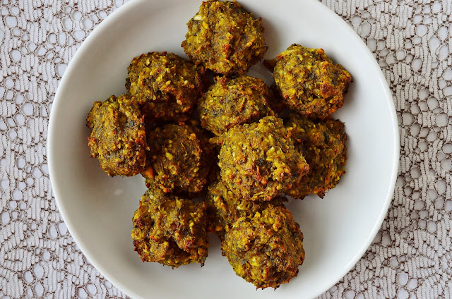 Bowl of grain free bhajis
