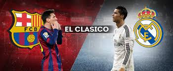 El Clasico Barcelona vs Real Madrid La Liga Spanyol