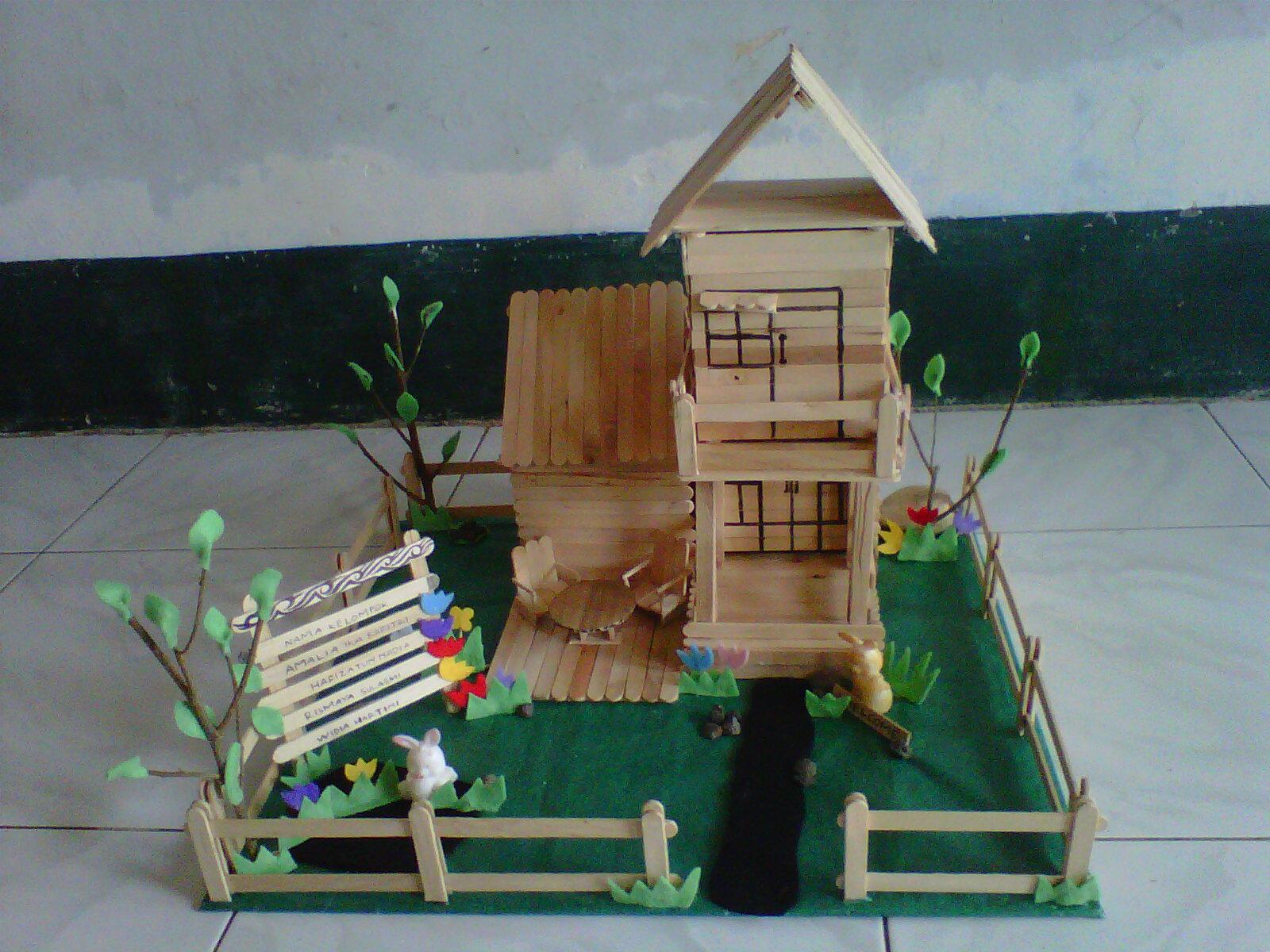 Contoh Rumah Minimalis Dari Stik | Interior Rumah