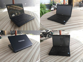 laptop second toshiba satellite l510 dualcore