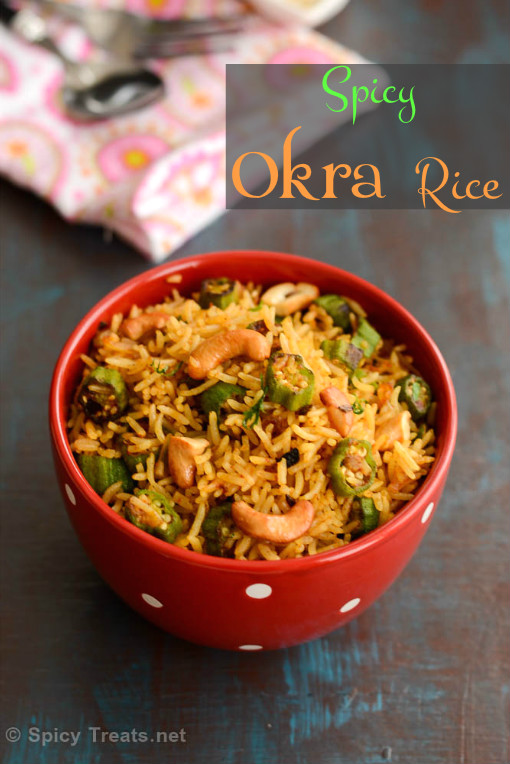 Indian Okra Rice