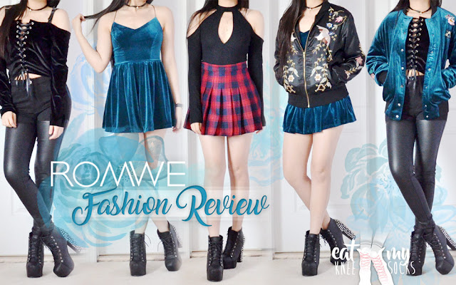 Romwe Fashion Review   br Luxe Velvet Looks   Must Haves for 2017     Romwe Fashion Review  Luxe Velvet Looks   Must Haves for 2017