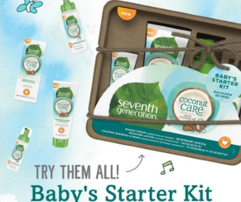 Seventh Generation Free Coconut Care Baby Starter Kit