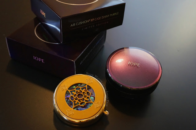 Limited edition IOPE duochrome case and Sulwhasoo 2004 Shine Classic compact