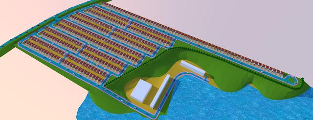 desain taman danau