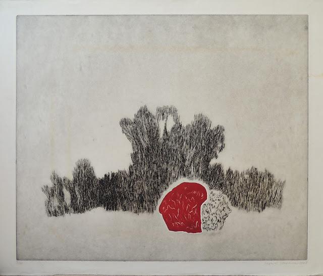 Siegrid Stefanow grabado frutas