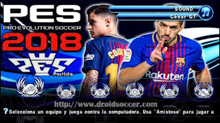 PES 2018 LATINO ISO PSP Android