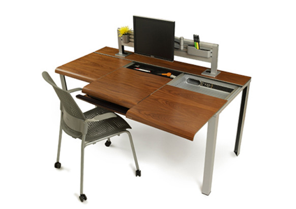 Slimdesk: Functional Design Desk   Minimalist Decorating Idea