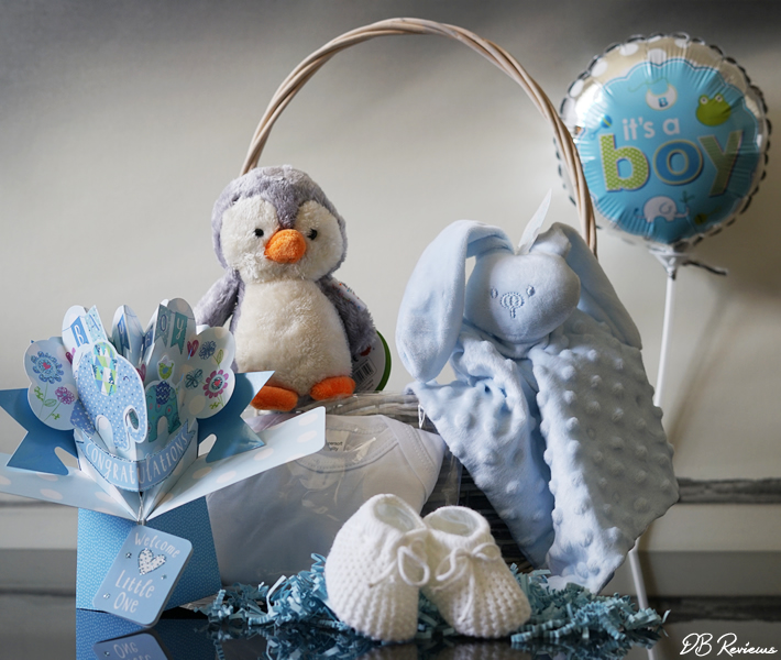 New Baby Boy Hamper from Prestige Hampers