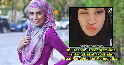 Ini Respon Izreen Azminda Tentang Bakal Jadi Datin, Buat Pendedahan Mengejutkan
