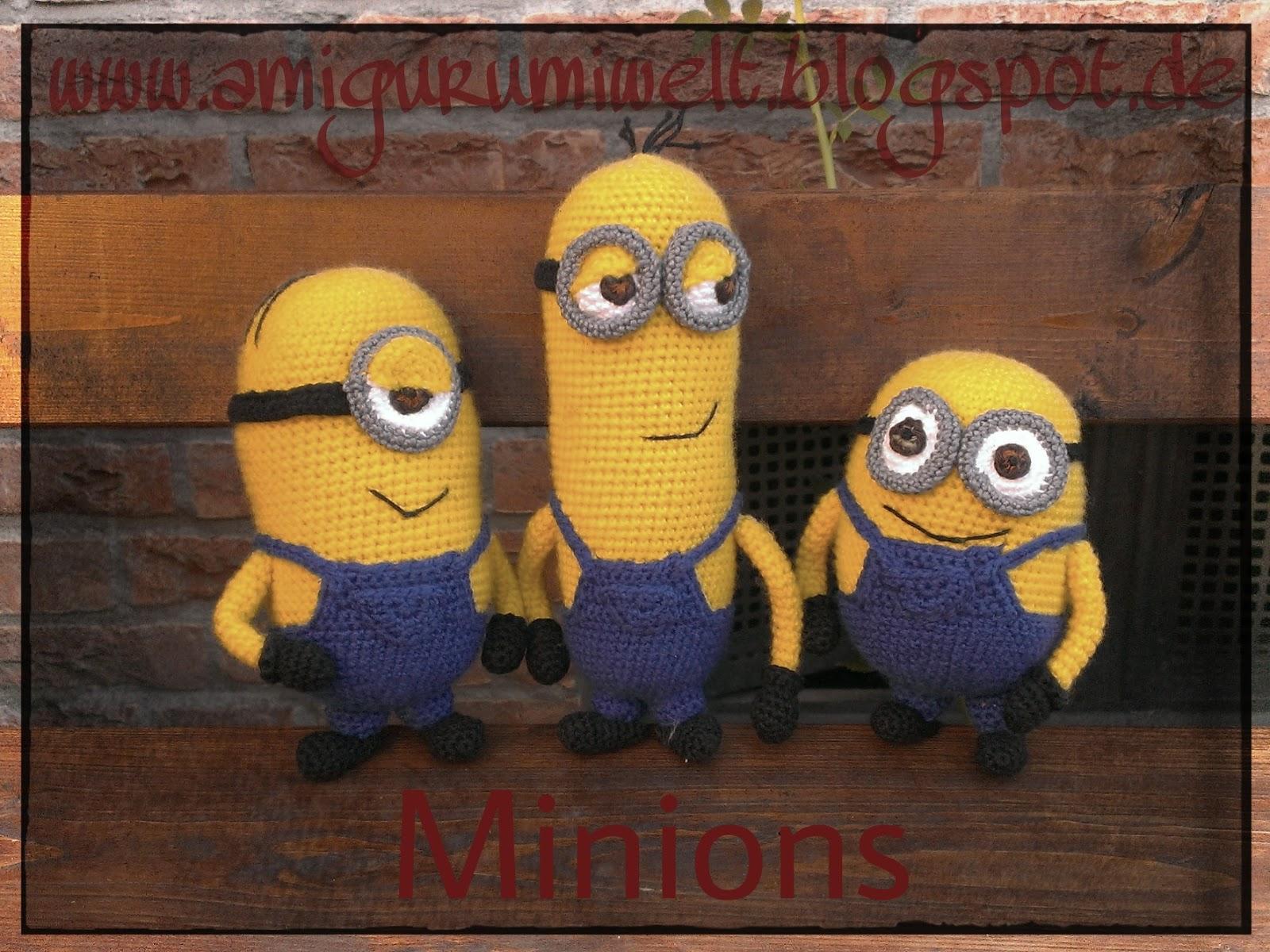 Wundervolle Amigurumi Welt Die Minions Kommen