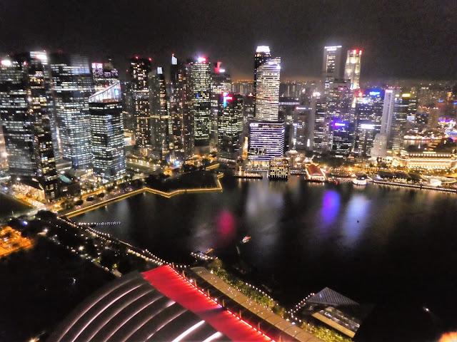 Singapore från ovan