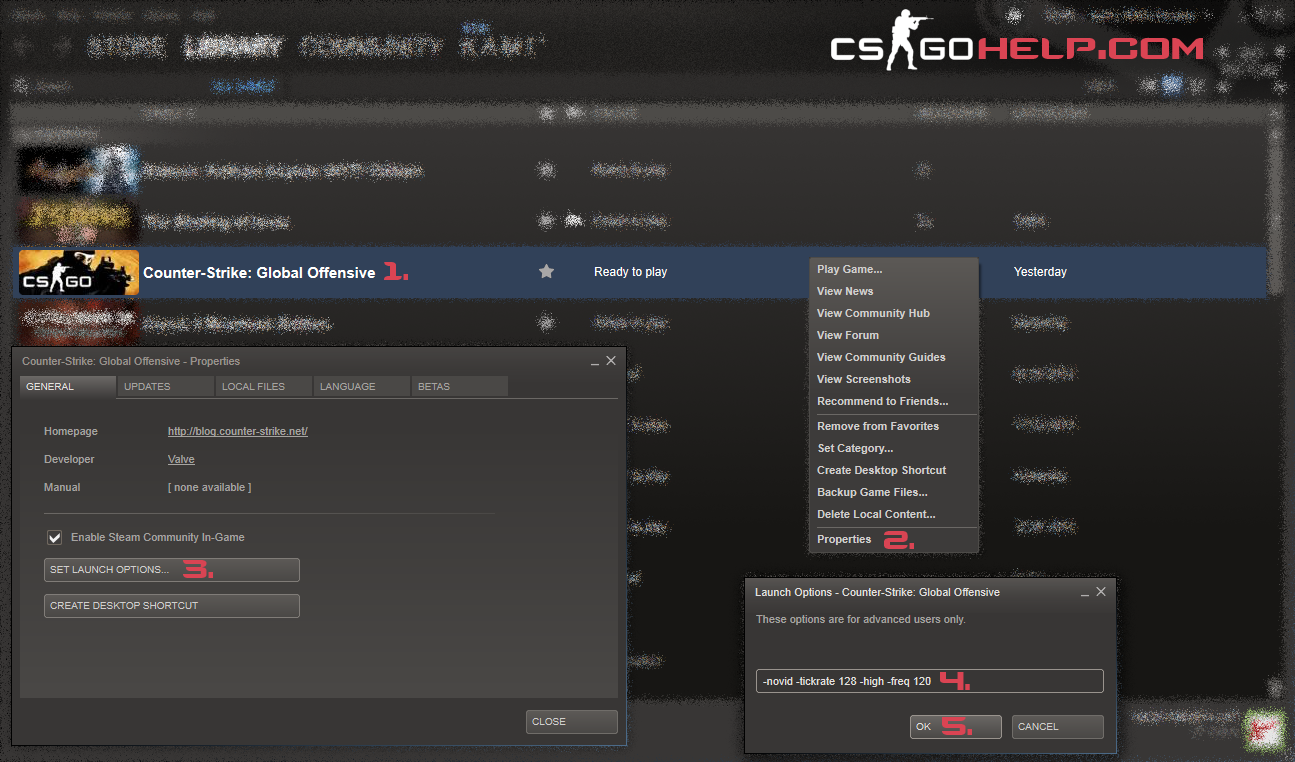 Counter strike: GO FPS DROP/FRAME TEARING FIX 100%: CS GO