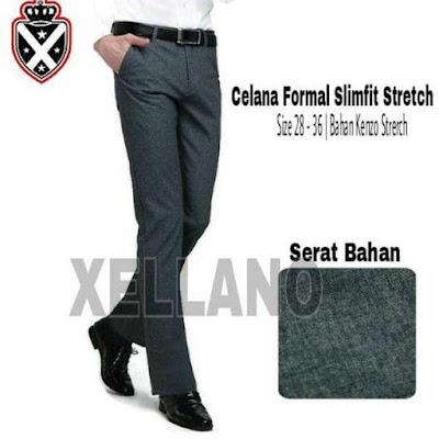 jual celana panjang formal pria, jual celana formal pria slim fit, harga celana panjang formal pria