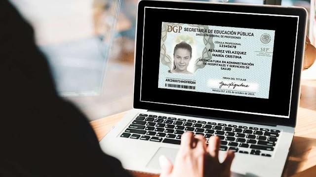 El trámite para la cédula profesional será en línea