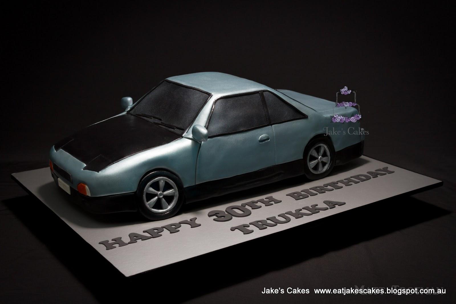 Jake S Cakes Nissan Silvia Car Cake