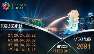Prediksi Angka Togel Singapura Minggu 17 Februari 2019