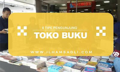 6 Tipe Pengunjung Toko Buku, Sahabat Termasuk Yang Mana?