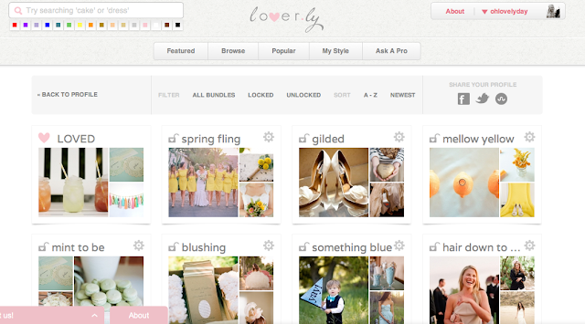 10 Websites to Help You Plan Your Wedding from Oh Lovely Day: Lover.ly